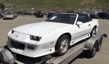 1992 CHEVY CAMARO CABRIO RS 5.0 V8 full