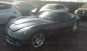 2006 Dodge Viper SRT 10 Coupe