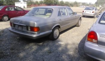 Mercedes-Benz 420 SEL 1989 full