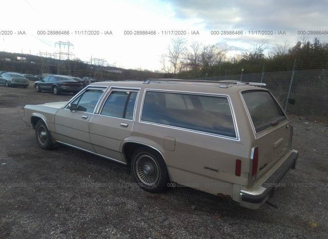 1988 Ford LTD Crown Victoria full